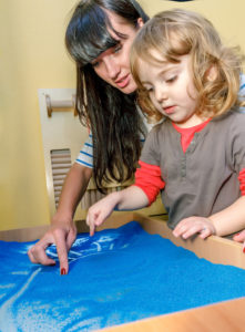 Art therapy for children
