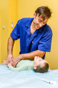 Therapeutic massage for children